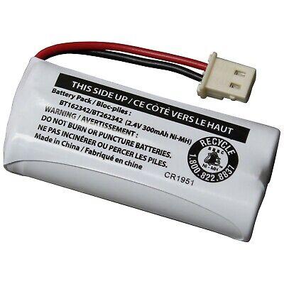 VTech BT162342/BT262342 2.4V 300mAh Ni-MH Battery Pack for Cordless Phone