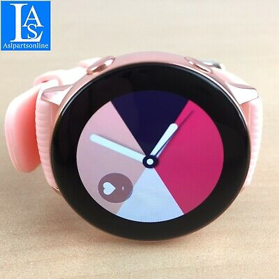 ✅ Samsung Galaxy Active SM-R500 Bluetooth Smart Watch 40mm ROSA SM-R500NZKCXAR