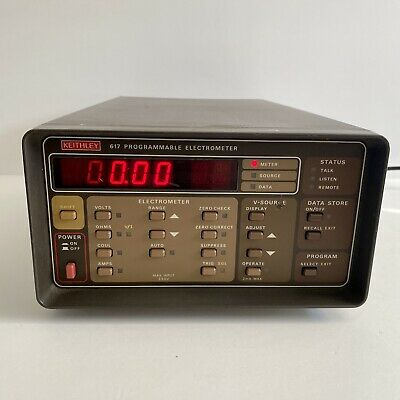 Keithley Programmable Electrometer Model 617