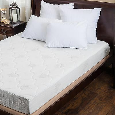 Aloe Gel Memory Foam 8-inch Full-size Smooth Top Mattress