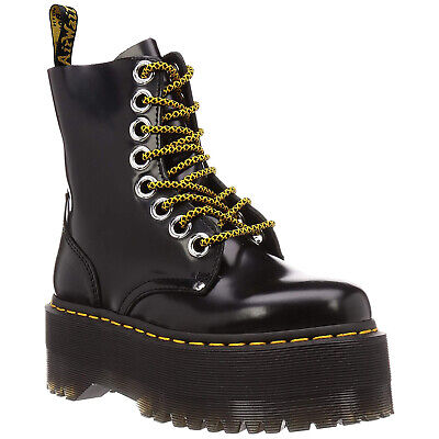 Buttero Leather Casual Ankle Lace-Up Zip-Up Damen Stiefel (Drmartens Stiefel)