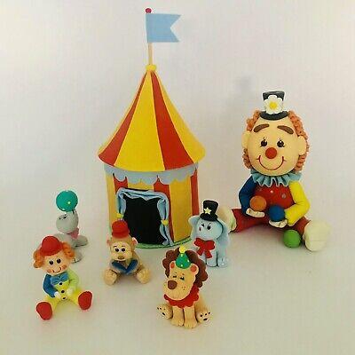 Carnival Theme Cake (Circus Theme Set.Cake)