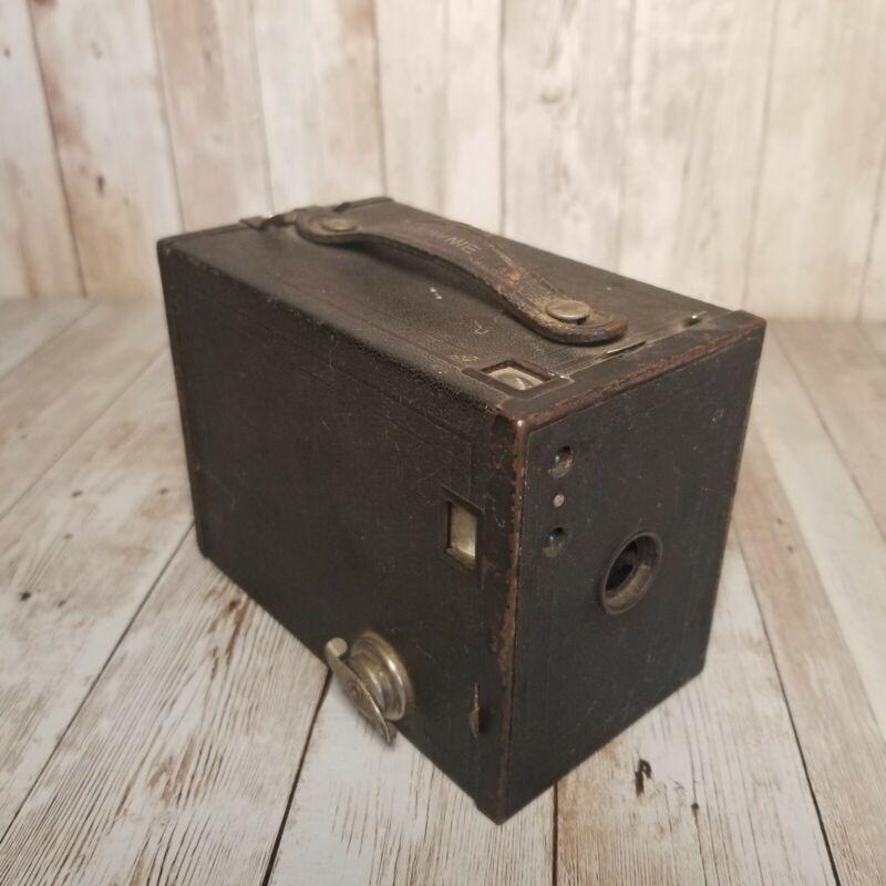 Eastman Kodak No. 2 Brownie Model F 120 Film Box Black Camera Rochester New York