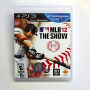 MLB The Show 12 PS3