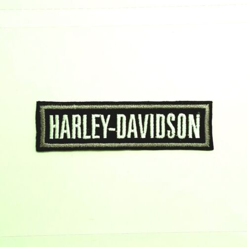 SMALL Harley Davidson SILVER BADGE Patch