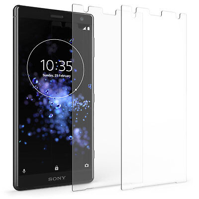 2 Pack, Sony Xperia XZ2 Screen Protectors Best Tempered Glass Thin