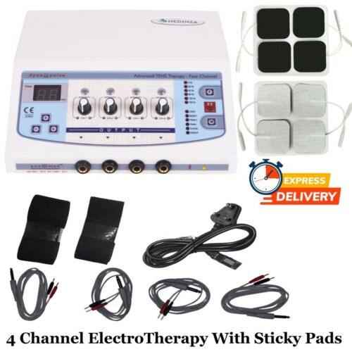 New ElectroTherapy Interferential Physical Therapy Machine IFT Physiotherapy UNT