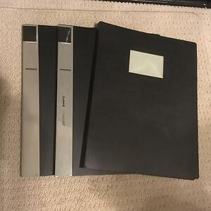 A3 display folders. Usually $15-20 each. You get all 3 for $10 Taigum Brisbane North East Preview