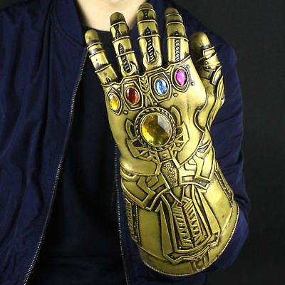 2018 Thanos Infinity Gauntlet Glove Infinity War The Avengers Cosplay Prop Usa