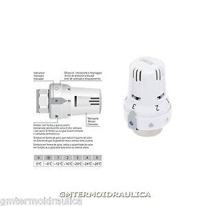 Testa testina termostatica termostatizzabile icma valvola for Testina termostatica