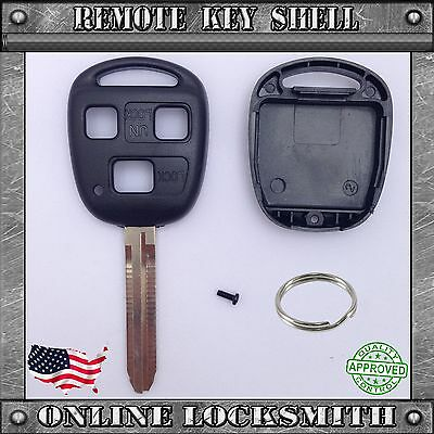 New Remote Key Shell Replacement Case For Toyota FJ Cruiser Land Cruiser Key Fob
