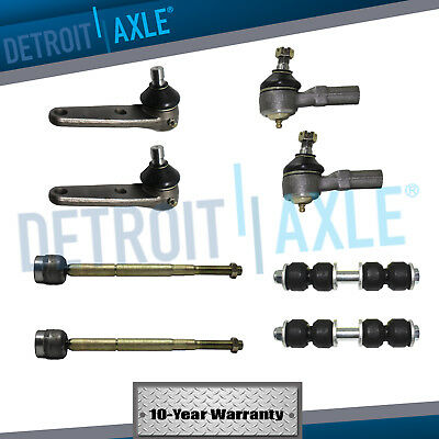 8pc Inner Outer Tie Rod Sway Bar Link for 1993 - 1996 Mercury Tracer Ford Escort