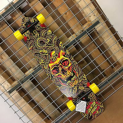 New Santa Cruz Medusa Flex Tech Cruzer Complete Skateboard - 9.72in x 37.78in