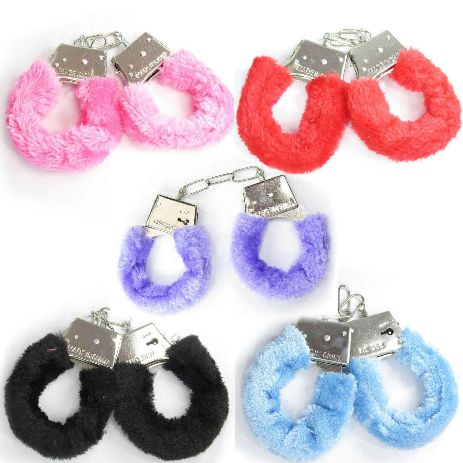 Details about FLUFFY FURRY HANDCUFFS FANCY DRESS HEN NIGHT SEXY PLAY NIGHT  TOY - UK SELLER