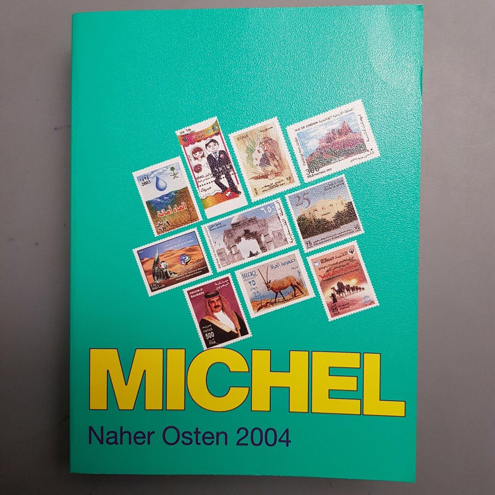 MICHEL Briefmarken-Katalog Naher Osten 2004 gebraucht