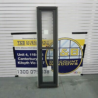 Aluminium Double hung window 1830H x 490W (Item 4758) Monument