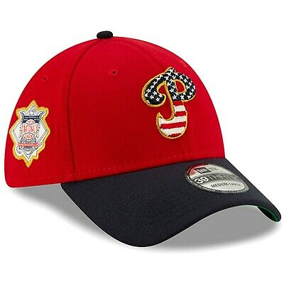 Philadelphia Phillies New Era 2019 Stars & Stripes 4th of July 39THIRTY Flex Hat - Fourth Of July Hat