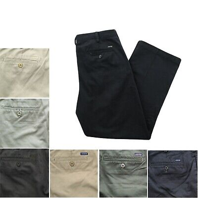 IZOD Mens American Flat Front Classic Fit Wrinkle Resistant Chino Khaki Pants (Wrinkle Resistant Chino)