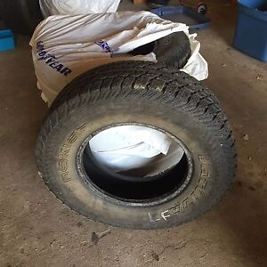 5 Tires for sale 125$ OBO