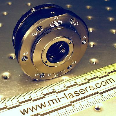 Newport Lfm-1a Lens Focusing Mount With Extra Lplh-1t Optic Holder 1 Nrc Laser