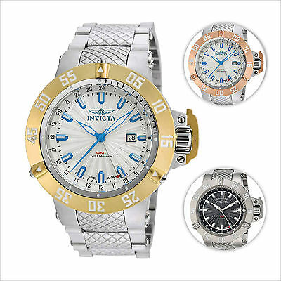 $139.99 - Invicta Men's Subaqua III GMT Steel Bracelet Watch