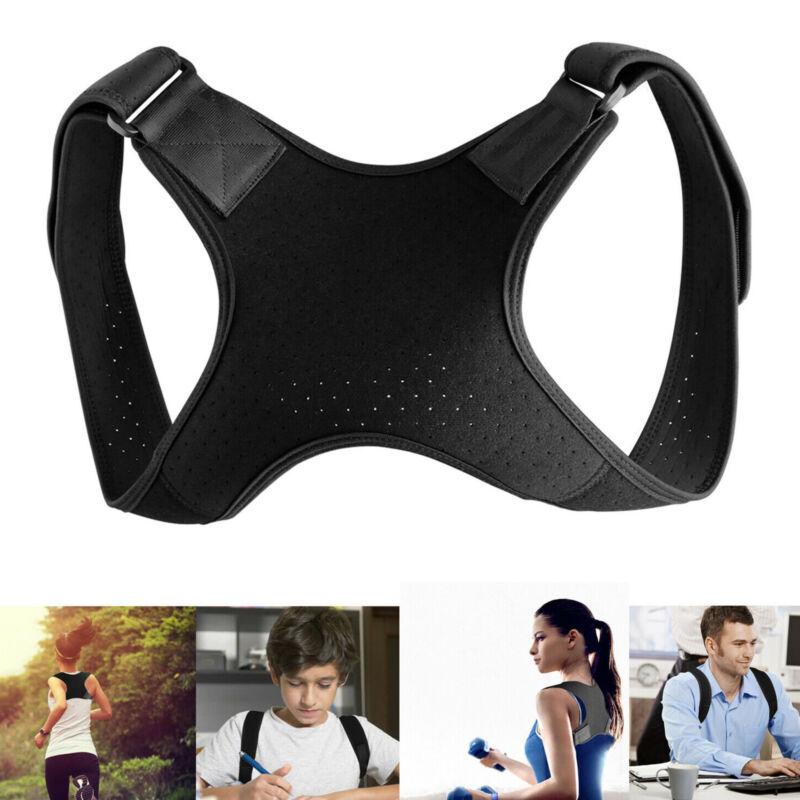 Back Posture Corrector Shoulder Straight Support Brace Belt Therapy Men Women US - $6.99