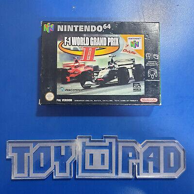 F1 F-1 World Grand Prix II 2- version PAL - Nintendo 64 N64 neuf new