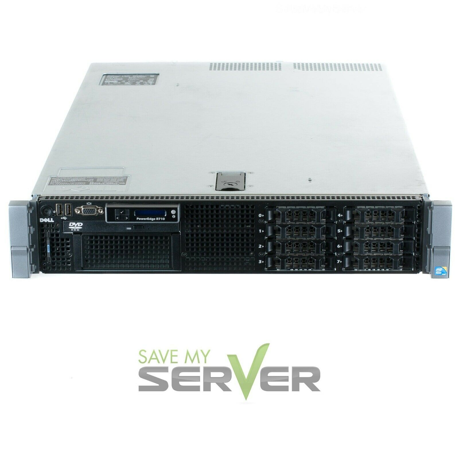 Dell PowerEdge R710 Server 2.26GHz 8-Cores 32GB Ram 4x 300GB 10K SAS