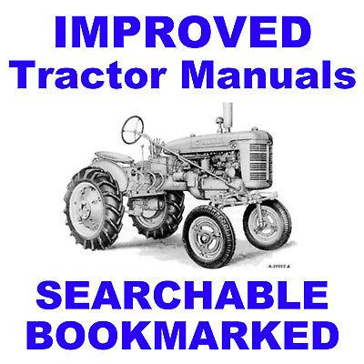Ih Mccormick Farmall Super A Av Parts Manual Owners Attachmts -3- Manuals Cd