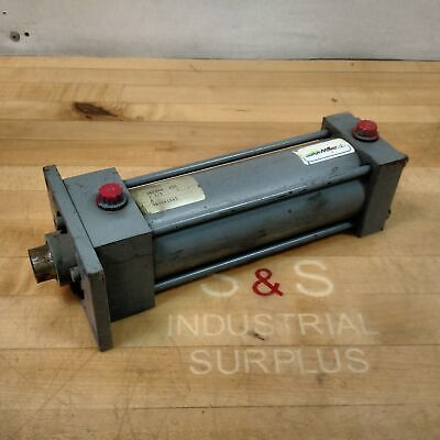 Miller Fluid Power A61b4n Pneumatic Cylinder 2-12 Bore 6 Stroke 250 Psi