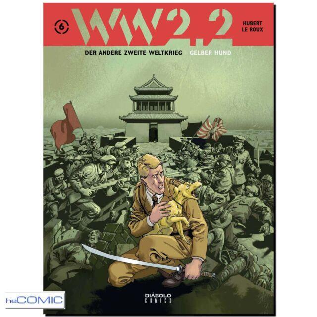 WW 2.2 Band 6 Gelber Hund Peking Der andere Zweite 2. Weltkrieg COMIC 40er