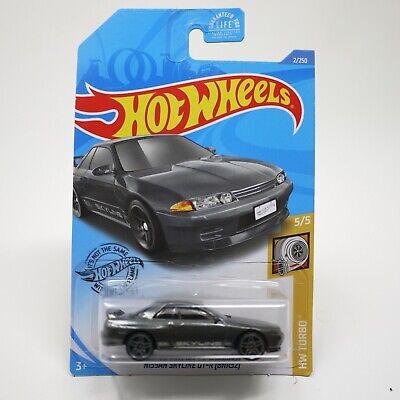 Hot Wheels Nissan Skyline GT-R Dark Gray Grey (BNR32) - HW Turbo 5/5