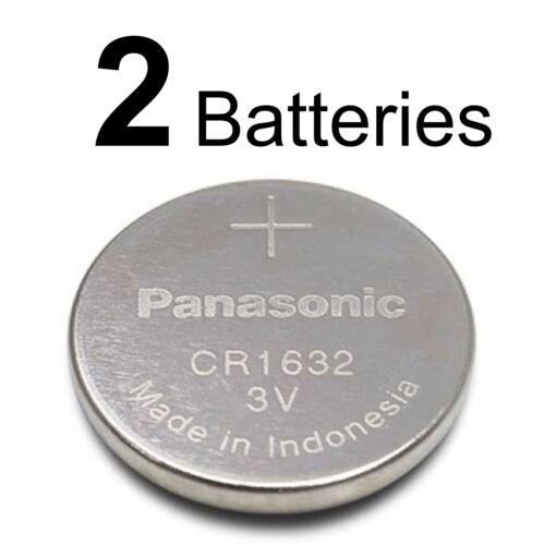 2 Panasonic Cr1632 Ecr1632 Cr 1632 3v Lithium Battery New  Exp 2027
