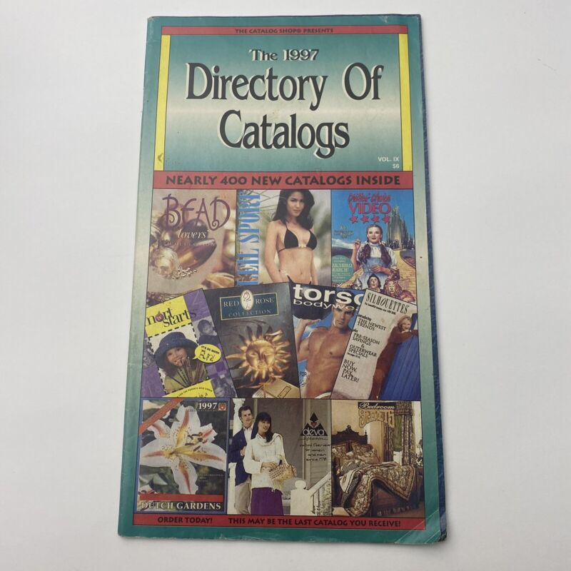 The 1997 Directory of Catalogs The Catalog Shop Presents Volume 4