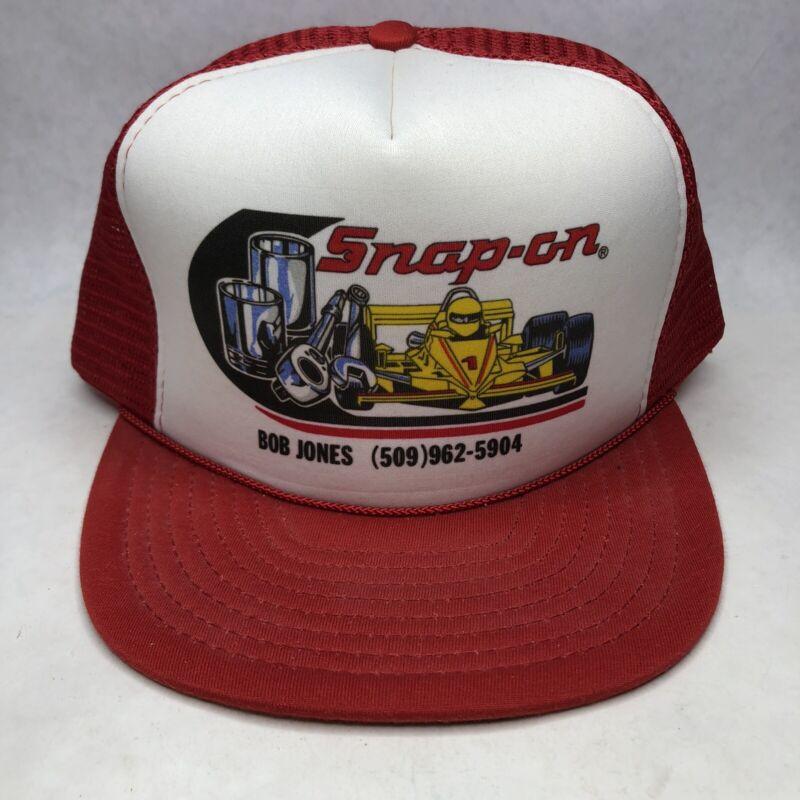 Vintage Snap-on Racing Snapback Trucker Hat