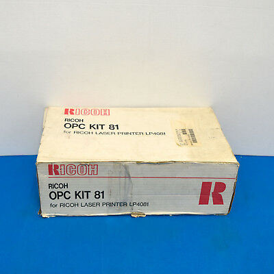 Ricoh G705-52 OPC Toner/Drum Kit 81 For Laser Printer LP4081 New, Genuine