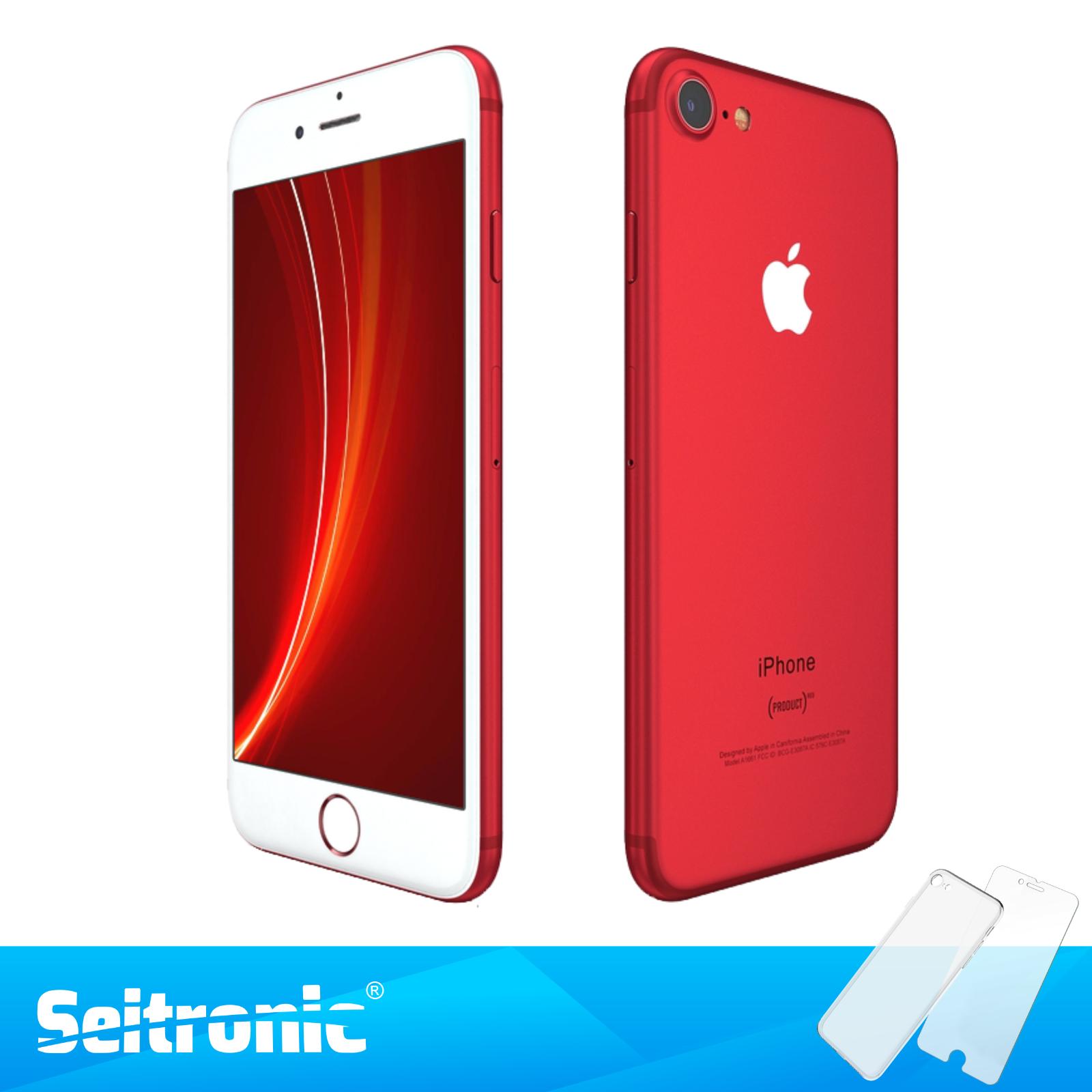 APPLE IPHONE 7 128GB ROT OHNE VERTRAG TOP HANDY SMARTPHONE - WIE NEU
