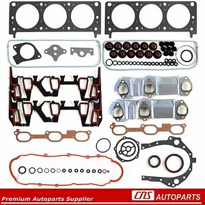 96-99-GM-CHEVY-OLDSMOBILE-MONTANA-3-4L-ENGINE-FULL-GASKET-SET-VIN-E