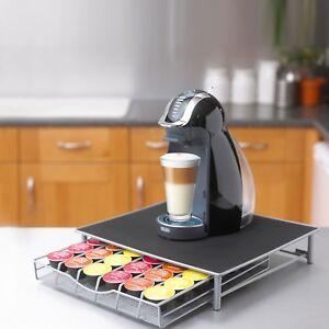 Coffee Machine Stand & Capsule Pod Storage Holder Drawer Dolce Gusto Nespresso