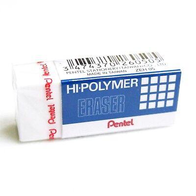Pentel Zeh05 Eraser Hi-polymer Rubber Stationary School Supply