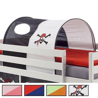 Bett Tunnel Spielzelt Bettzelt für Hochbett Rutschbett Spielbett Kinderbett