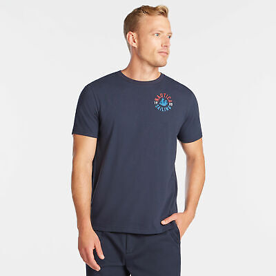 Nautica Mens Ns-83 Crest Graphic T-Shirt