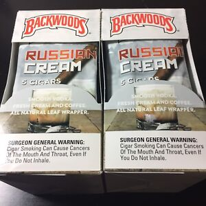 Russian Cream backwoods