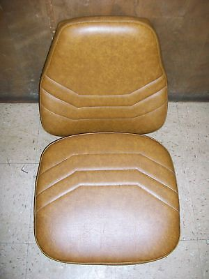 Case 580k Backhoe Suspension Seat Replace Cushion Set