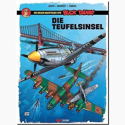 Die neuen Abenteuer von Buck Danny 4 Die Teufelsinsel FLIEGERSTAFFEL - COMIC NEU
