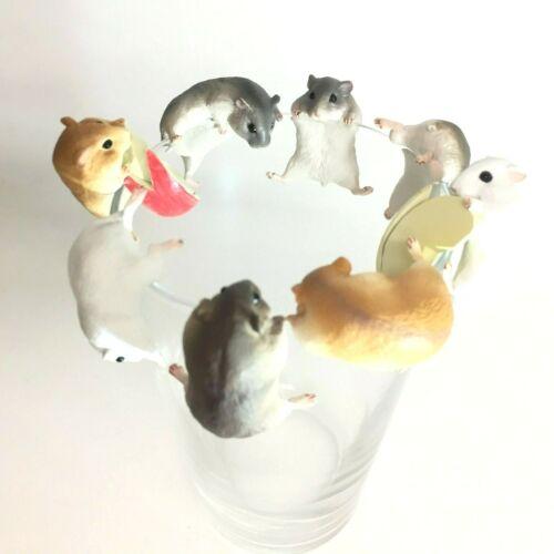 Putitto Series Mini Figure Hamster Full Set of 8 Kitan Club Japan
