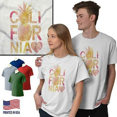 California Love Shirt LA Los Angeles Coast T-Shirts T Shirts Tees For Womens ()