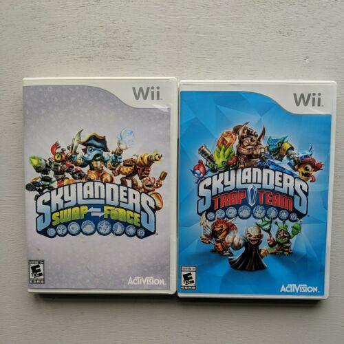 Skylanders Swap Force/Trap Team Game Only Nintendo Wii, Tested  - $10.00