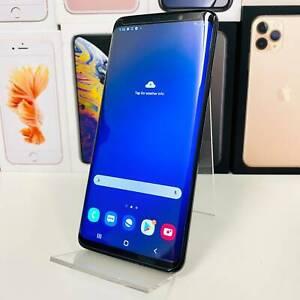 SAMSUNG S9 PLUS 64GB BLACK PERFECT CONDITION