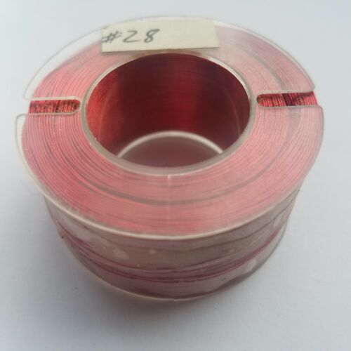 Enameled Copper Magnet Wire 28 AWG - 4.41oz Spool